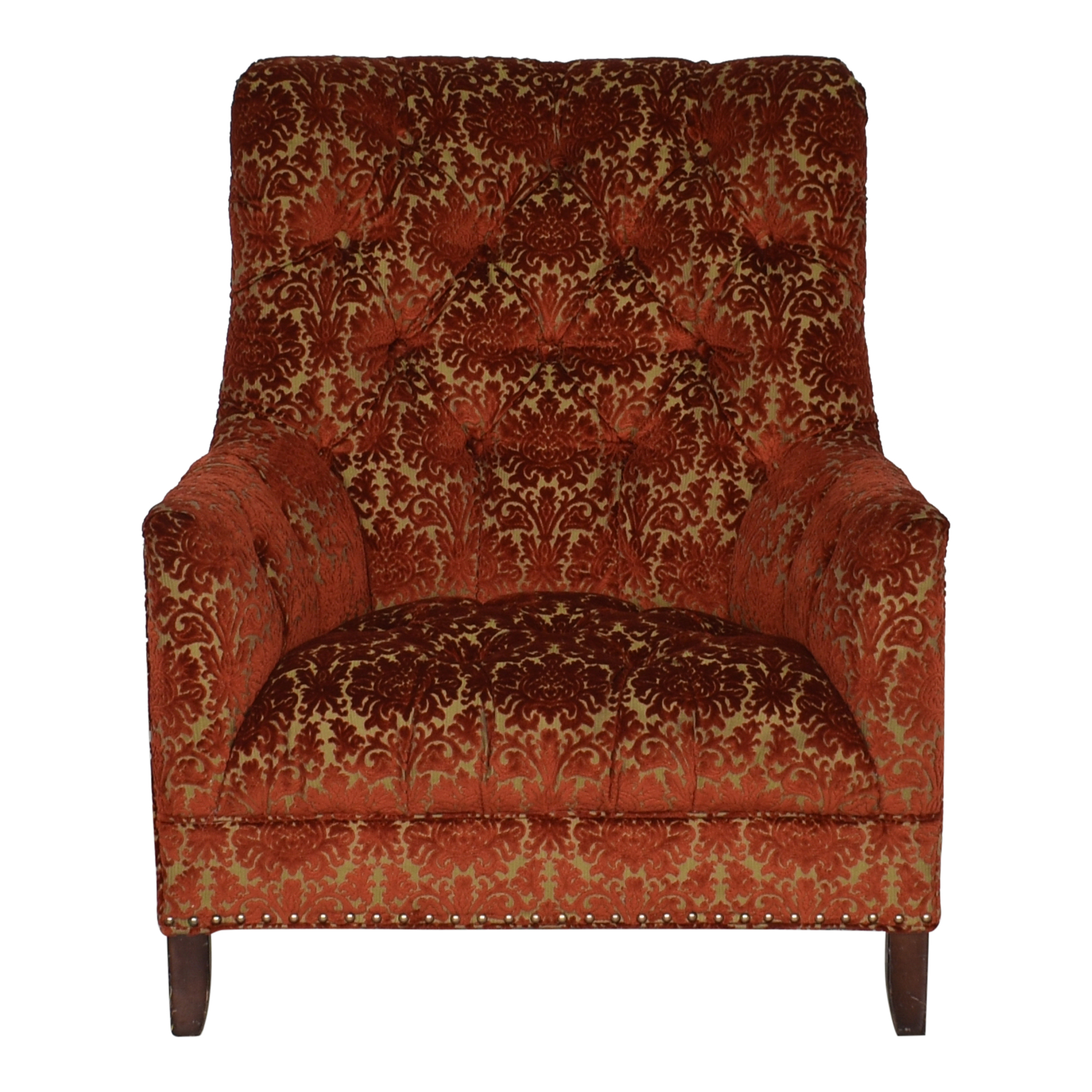 Arhaus Club Accent Chair with Nailheads / Chairs
