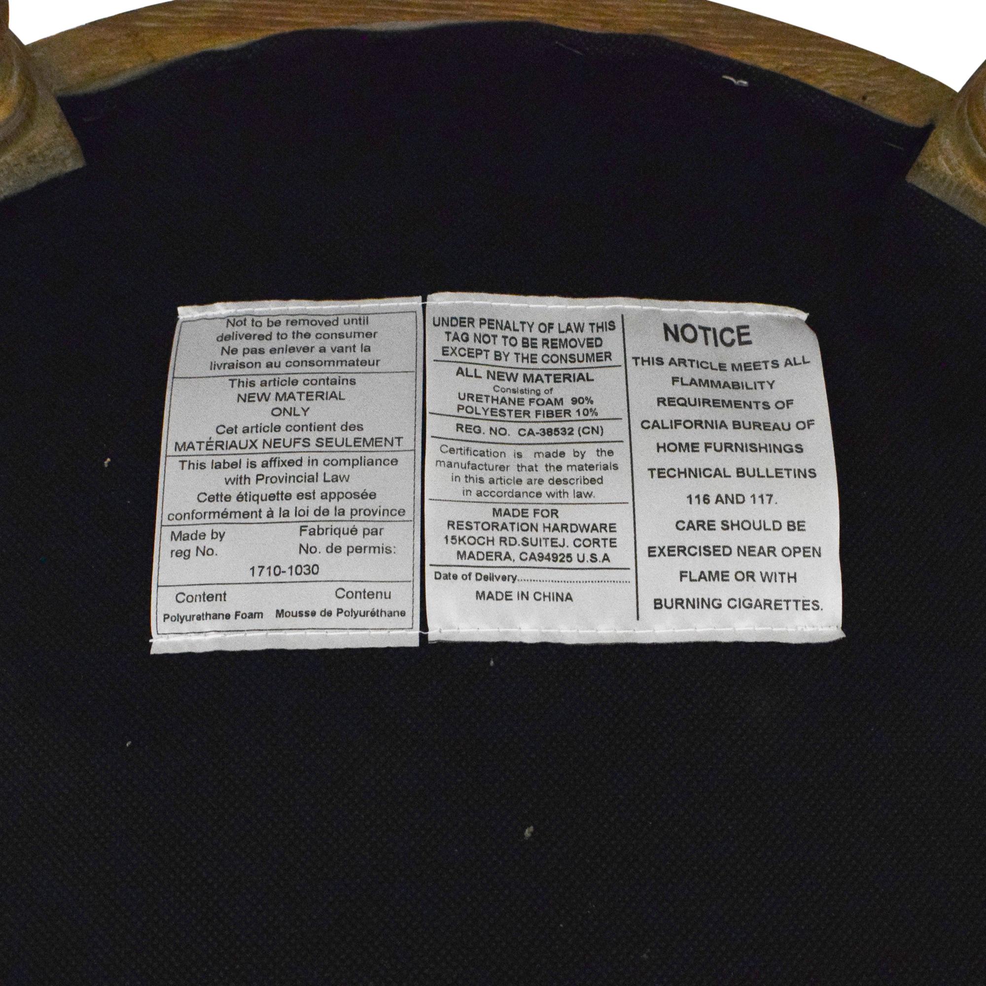 shop Restoration Hardware Vintage French Round Dining Chairs Restoration Hardware Dining Chairs