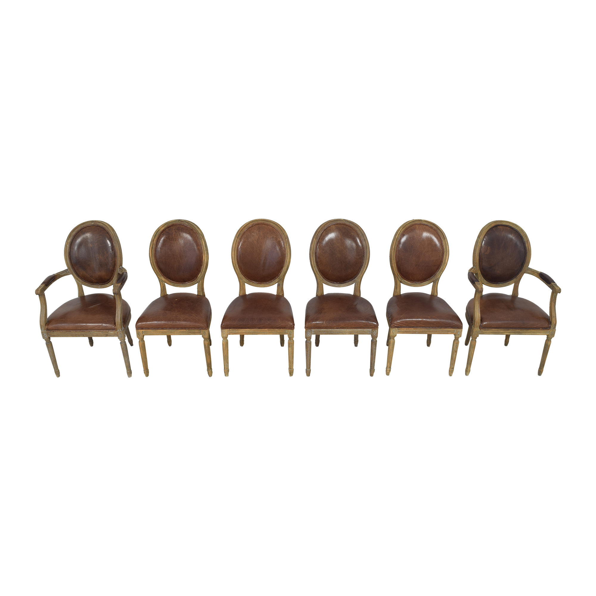 shop Restoration Hardware Vintage French Round Dining Chairs Restoration Hardware Chairs