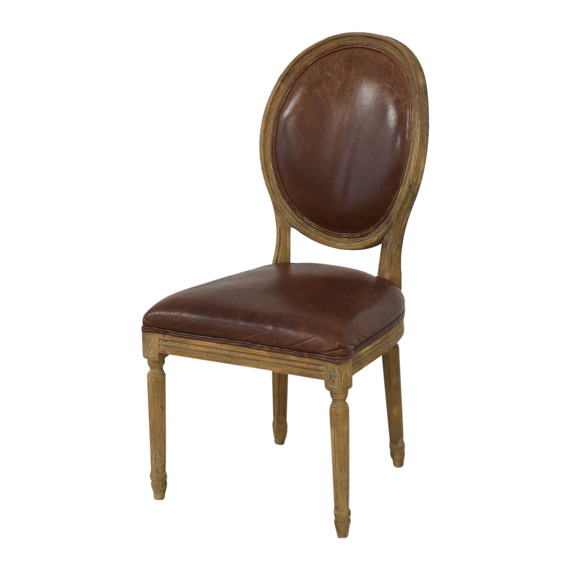 Restoration Hardware Restoration Hardware Vintage French Round Dining Chairs ma