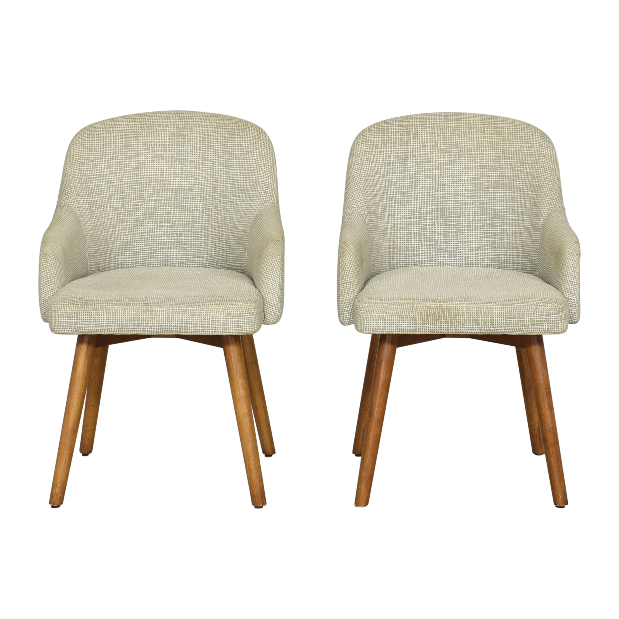 West Elm West Elm Upholstered Dining Chairs Dining Chairs