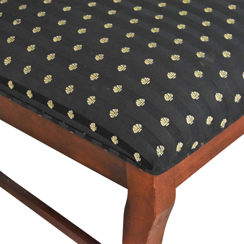 Leda Furniture Leda Furniture Side Chairs Brown / Black