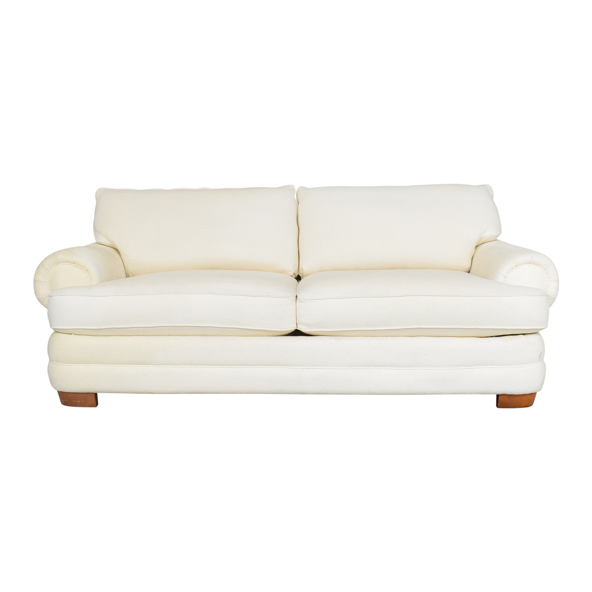 Bassett Furniture Bassett Furniture Two Cushion Roll Arm Sofa coupon