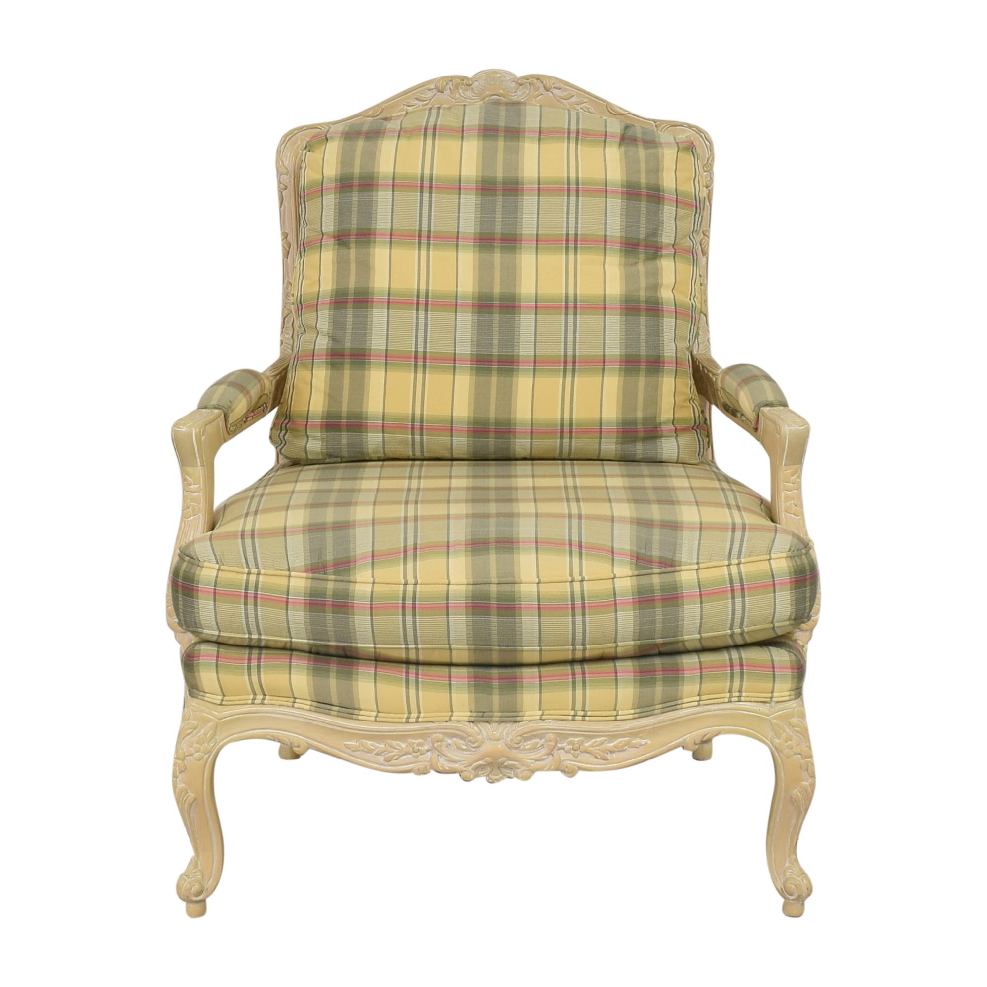 Sherrill Furniture Sherrill Furniture Plaid Bergere Chair coupon