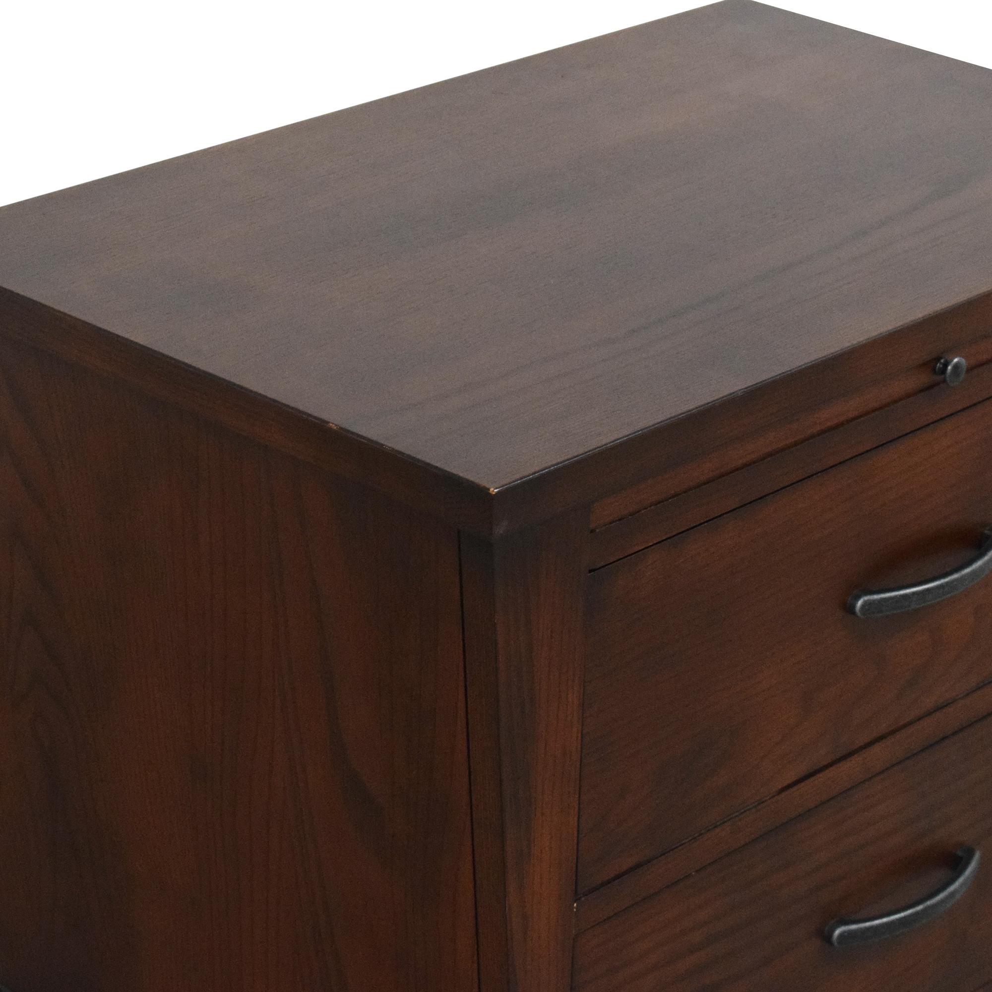 buy Ethan Allen Horizons Obi Nightstand Ethan Allen End Tables