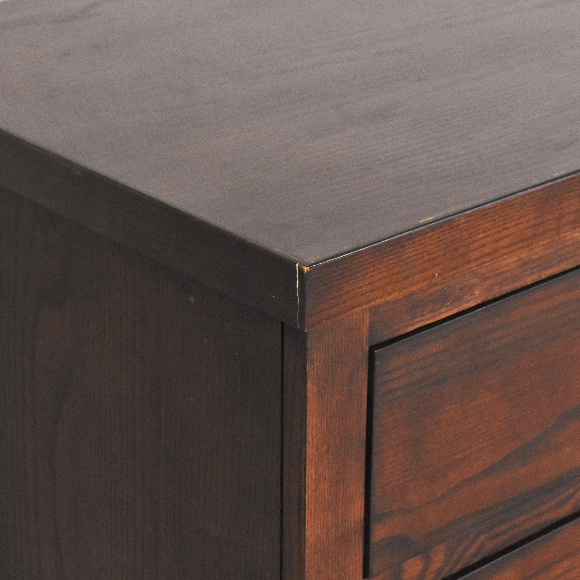 buy Ethan Allen Horizons Collection Six Drawer Dresser Ethan Allen