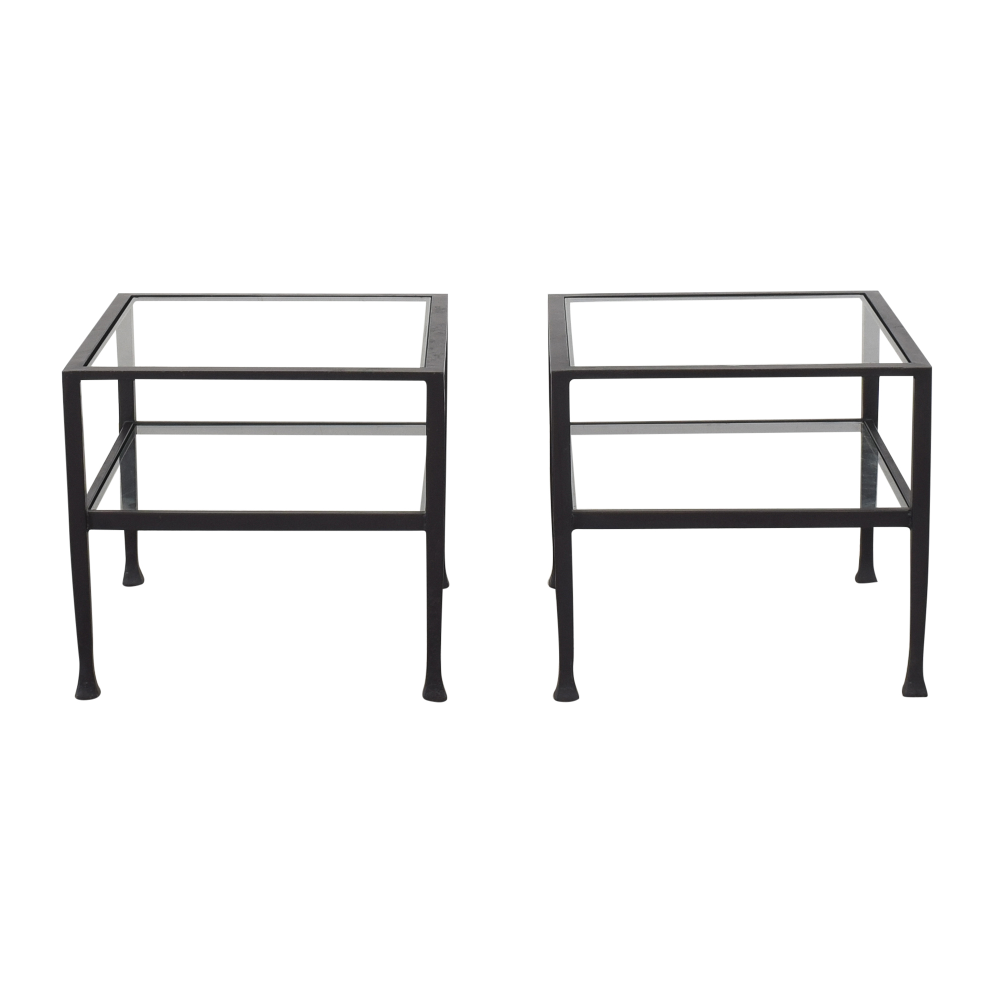 Restoration Hardware Restoration Hardware Square End Tables