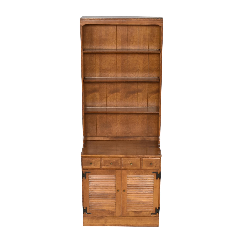 Ethan Allen Ethan Allen Heirloom Shutter Door Cabinet with Bookcase for sale