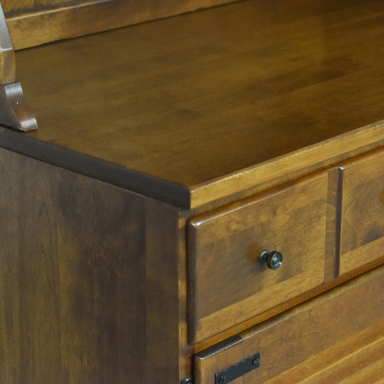 Ethan Allen Ethan Allen Heirloom Shutter Door Cabinet with Bookcase