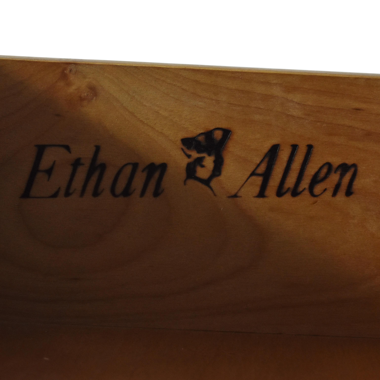 Ethan Allen Ethan Allen Heirloom Shutter Door Cabinet with Bookcase nj