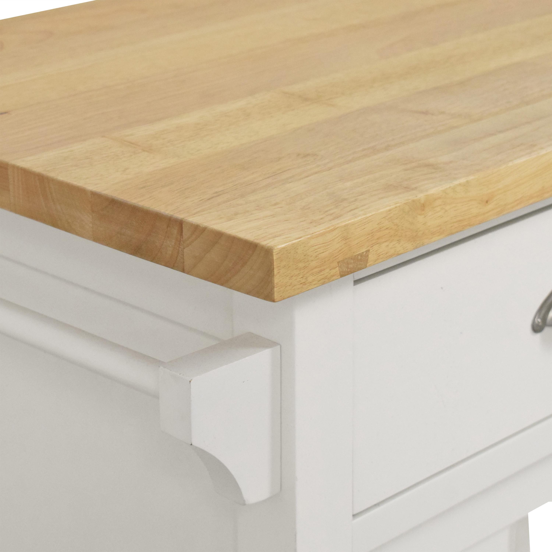 Crate & Barrel Belmont Kitchen Island / Utility Tables
