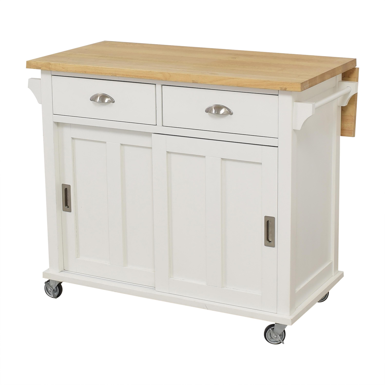 Crate & Barrel Crate & Barrel Belmont Kitchen Island nyc