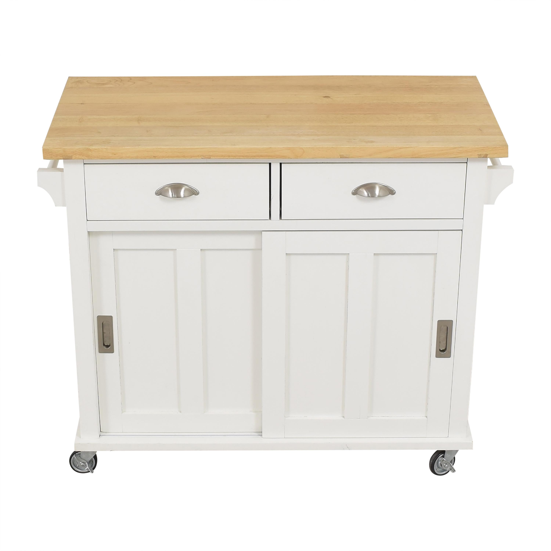 Crate & Barrel Belmont Kitchen Island / Tables