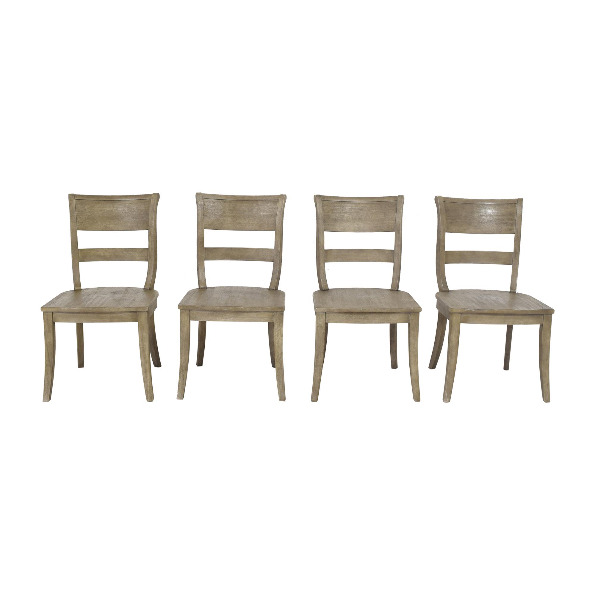 Pottery Barn Pottery Barn Bradford Dining Chairs Gray