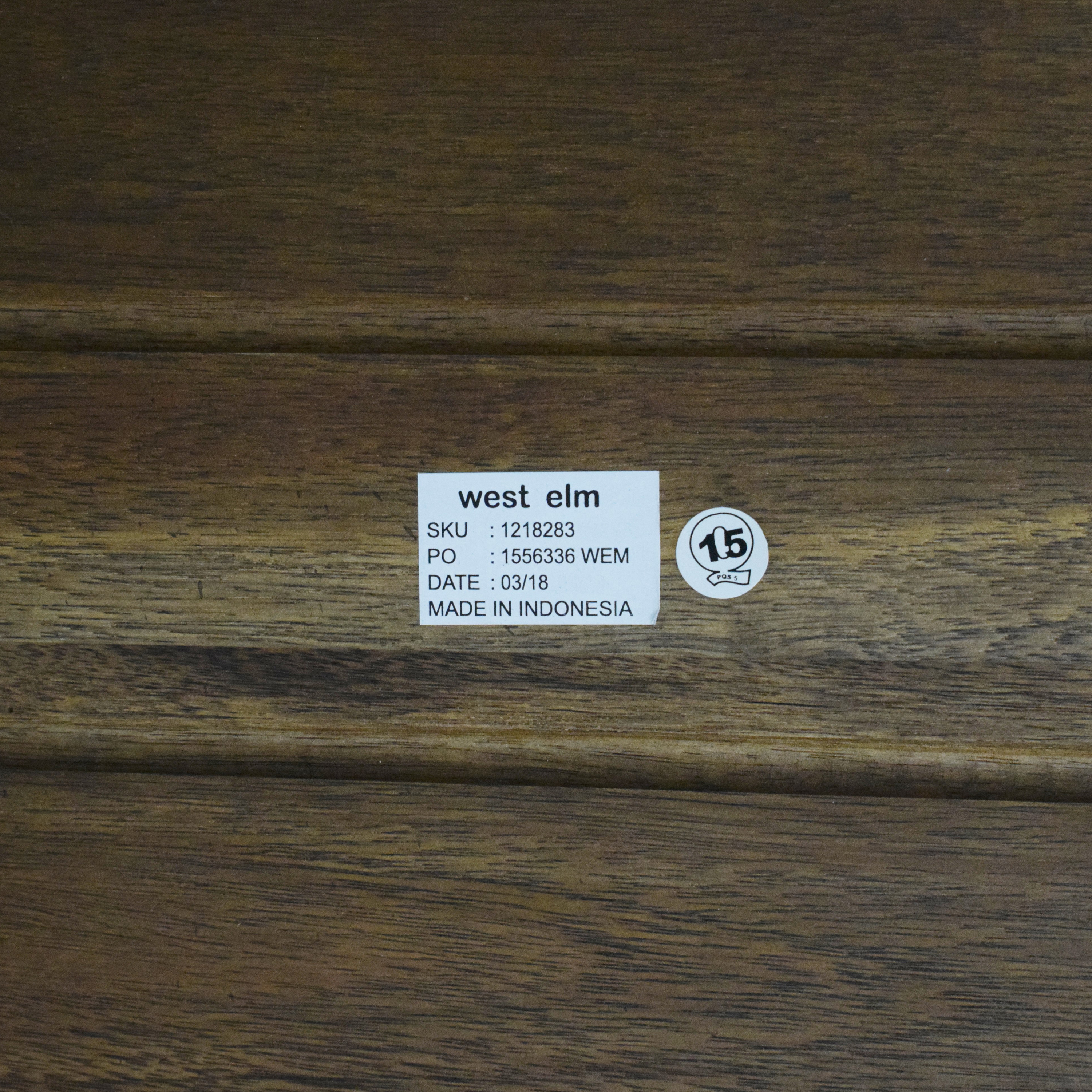 shop West Elm Anderson Dining Bench West Elm Benches
