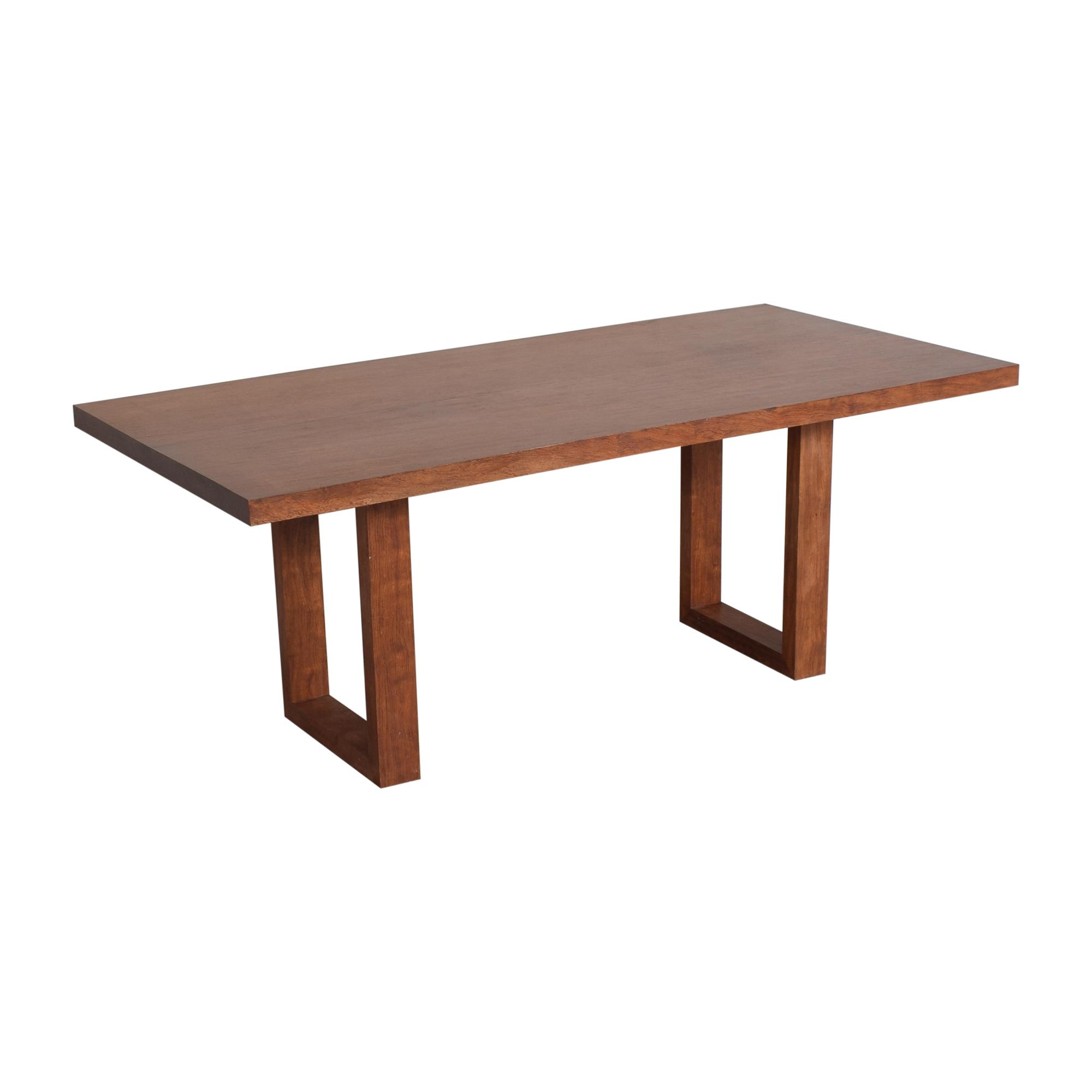 buy  Custom Made Rectangular Dining Table online