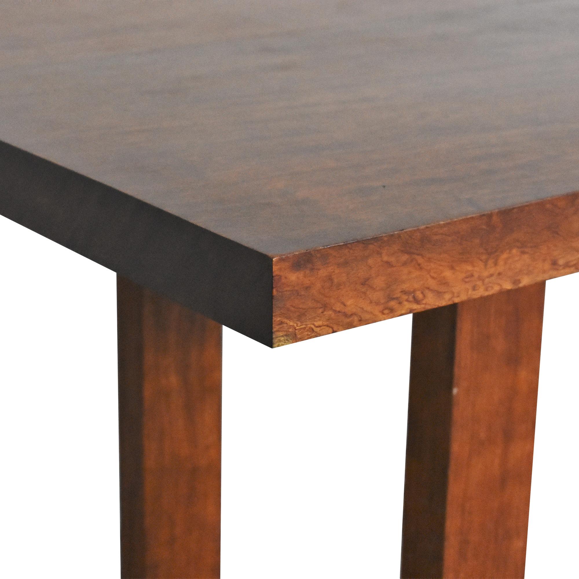 Custom Made Rectangular Dining Table used