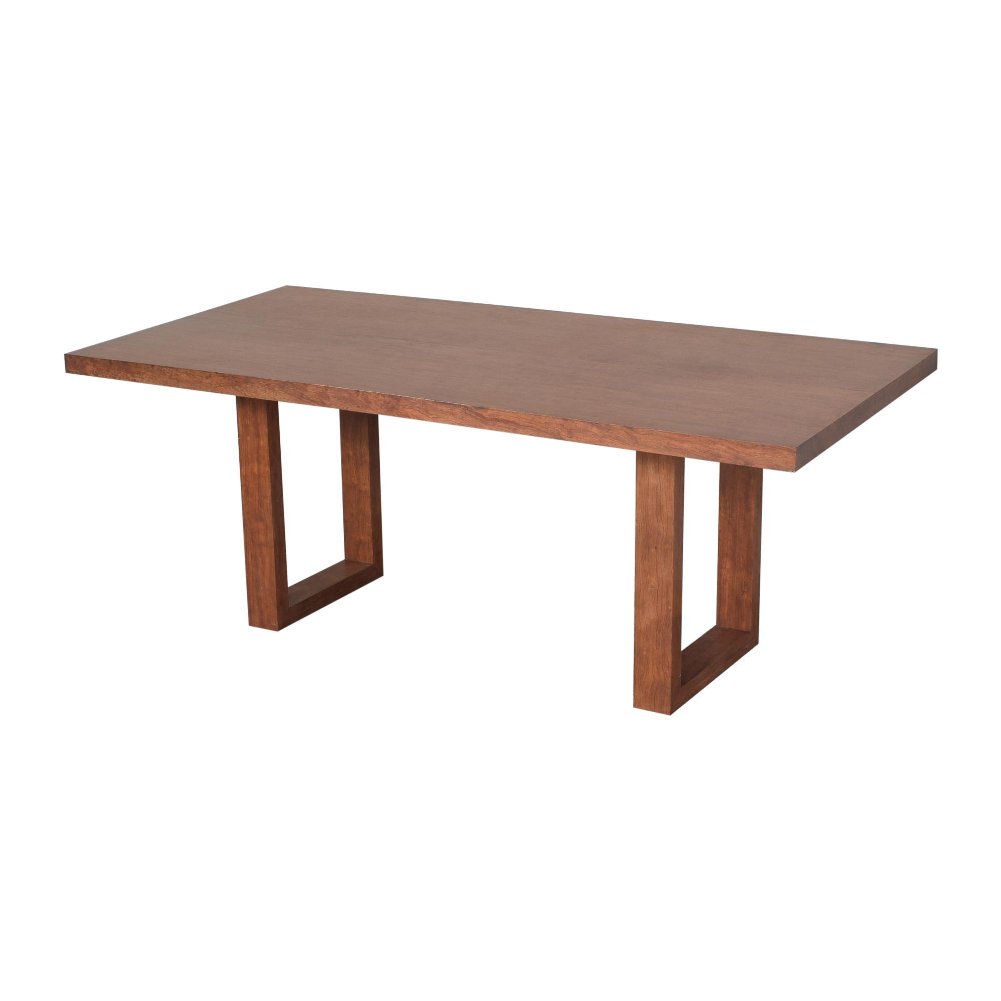 Custom Made Rectangular Dining Table