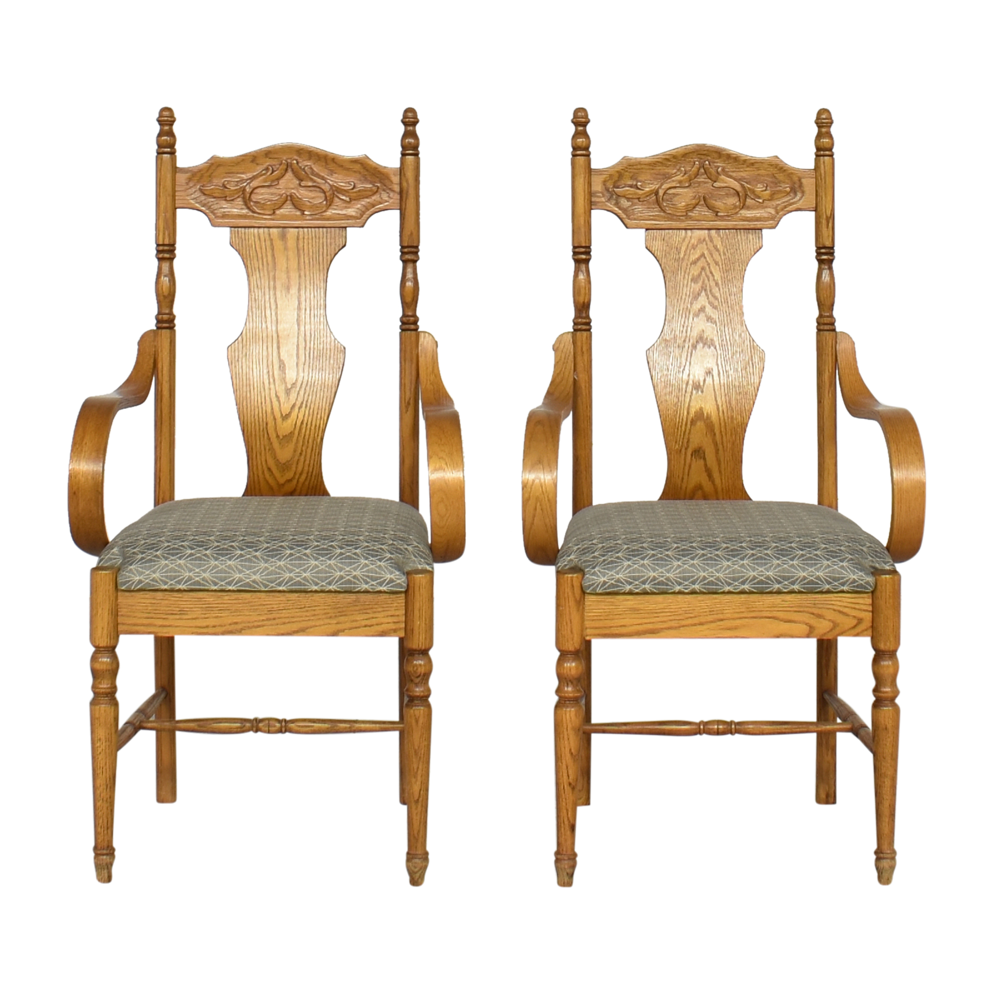 Upholstered Dining Arm Chairs ct