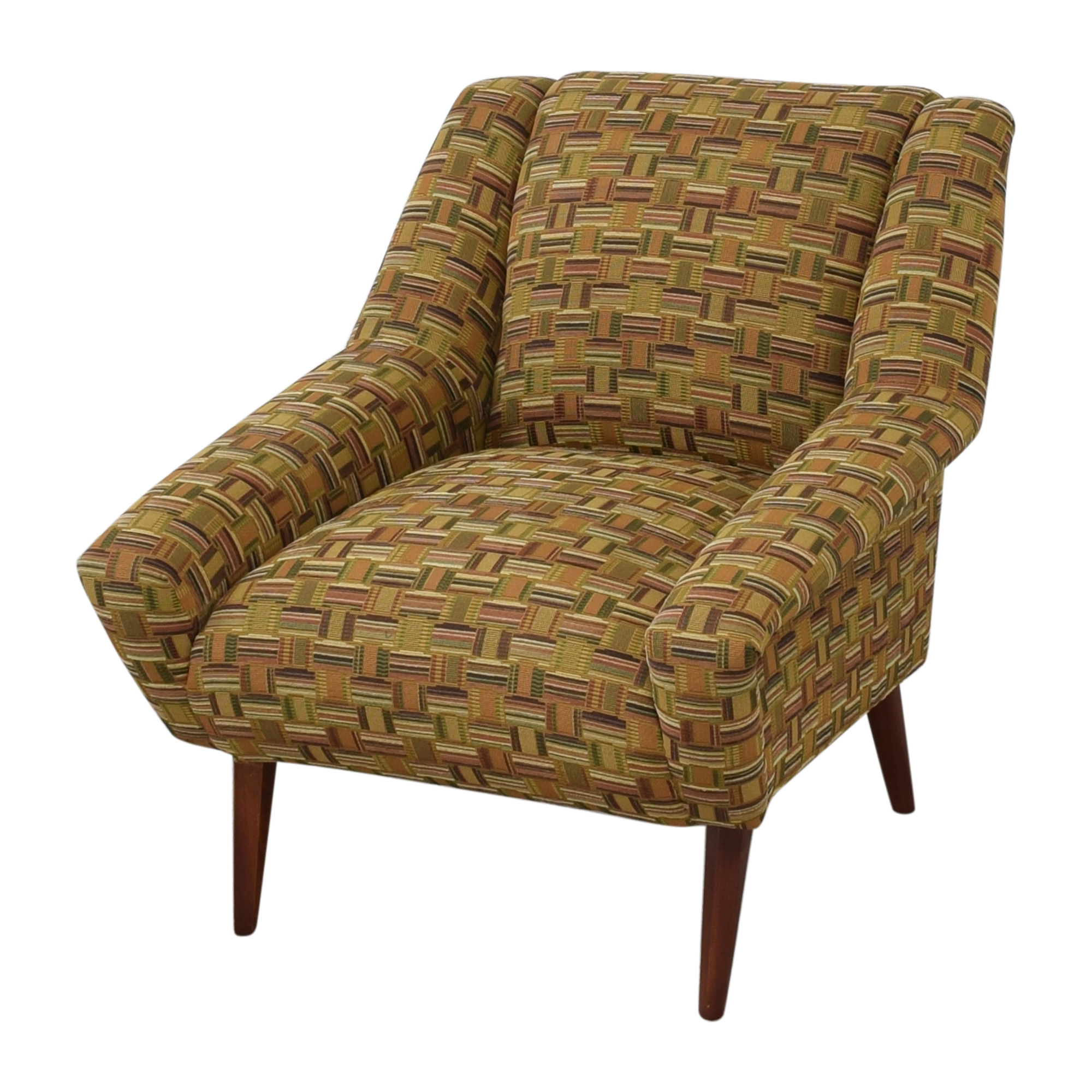 Maurice Villency Modern Arm Chair / Accent Chairs