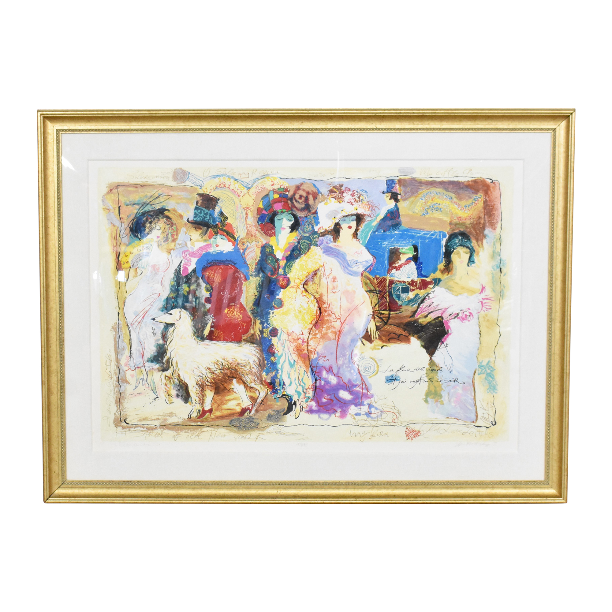 Galtchansky and Wissotzky Old Love Letters Wall Art  on sale