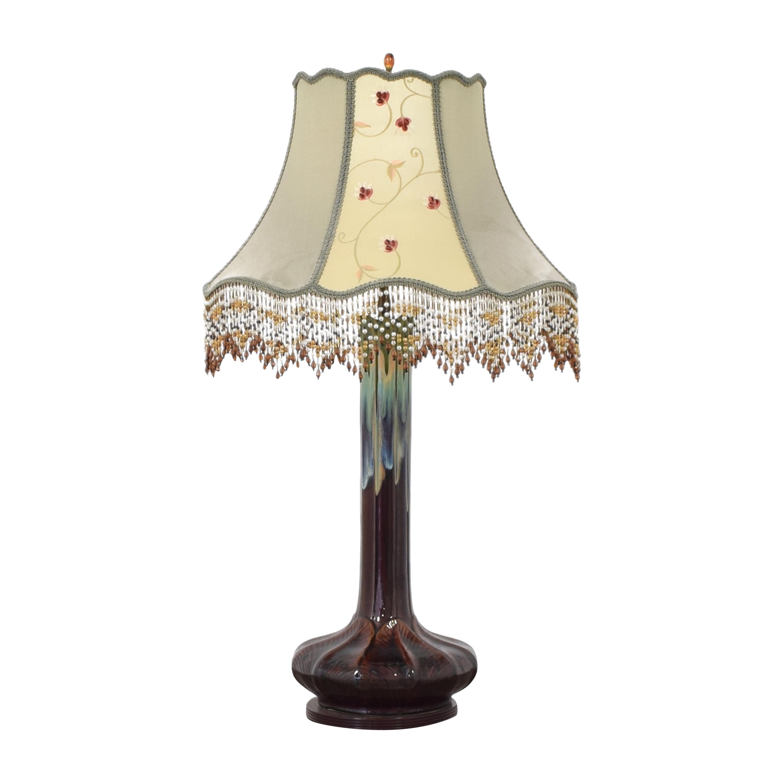 buy Custom Fringe Trim Table Lamp  Lamps
