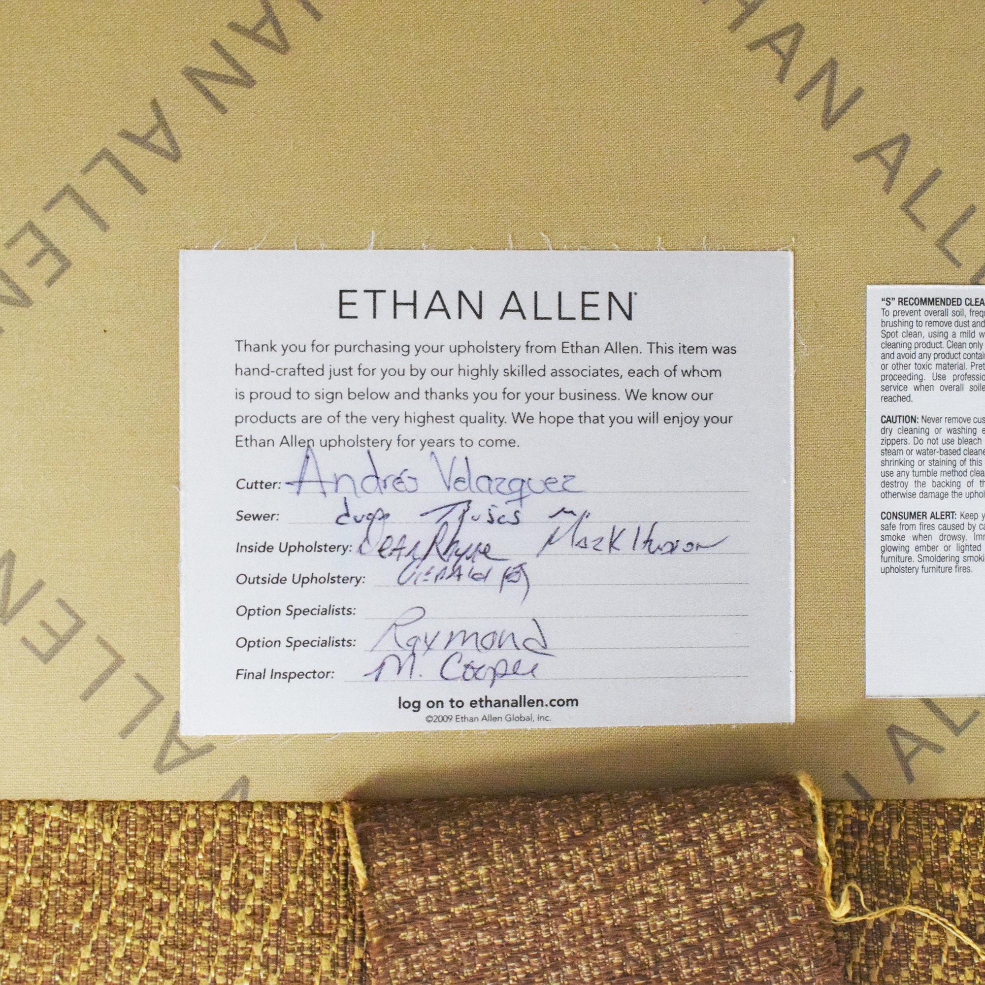 Ethan Allen Ethan Allen Arcata Sofa pa