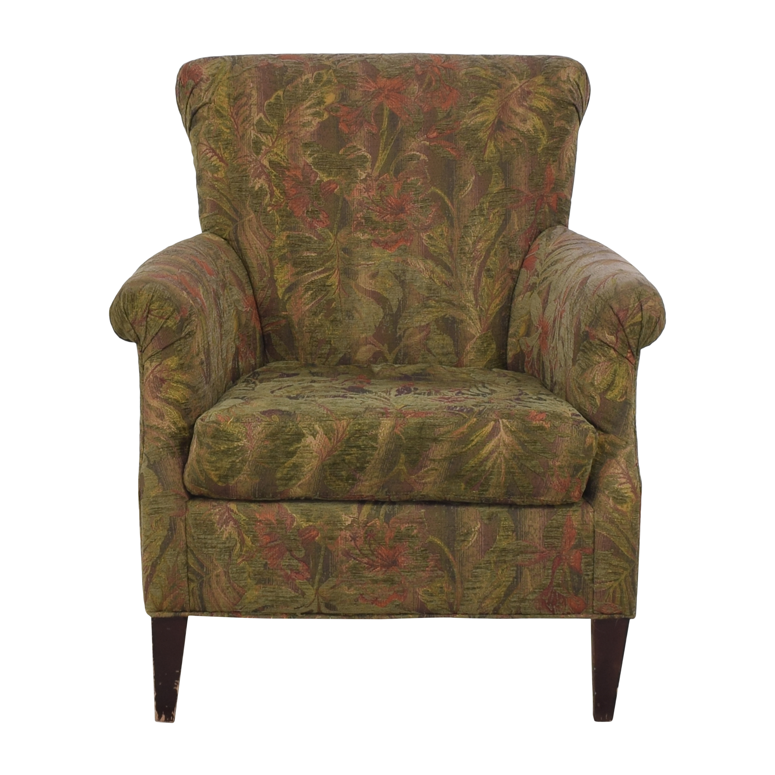 shop Crate & Barrel Wing Back Accent Chair Crate & Barrel Chairs