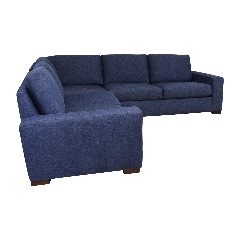 BenchMade Modern BenchMade Modern Couch Potato Sectional Sofa Sofas