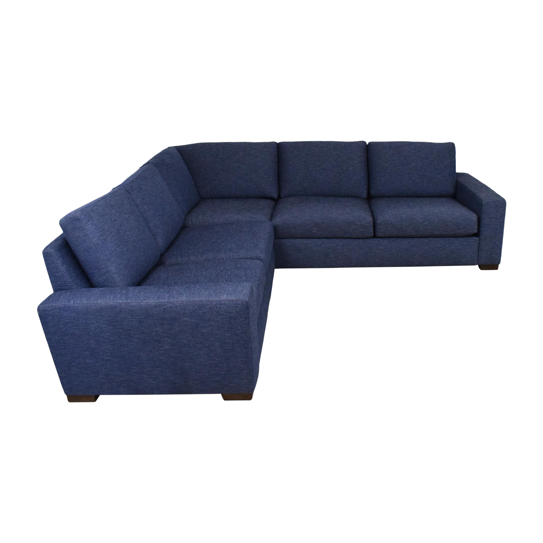 BenchMade Modern BenchMade Modern Couch Potato Sectional Sofa nj