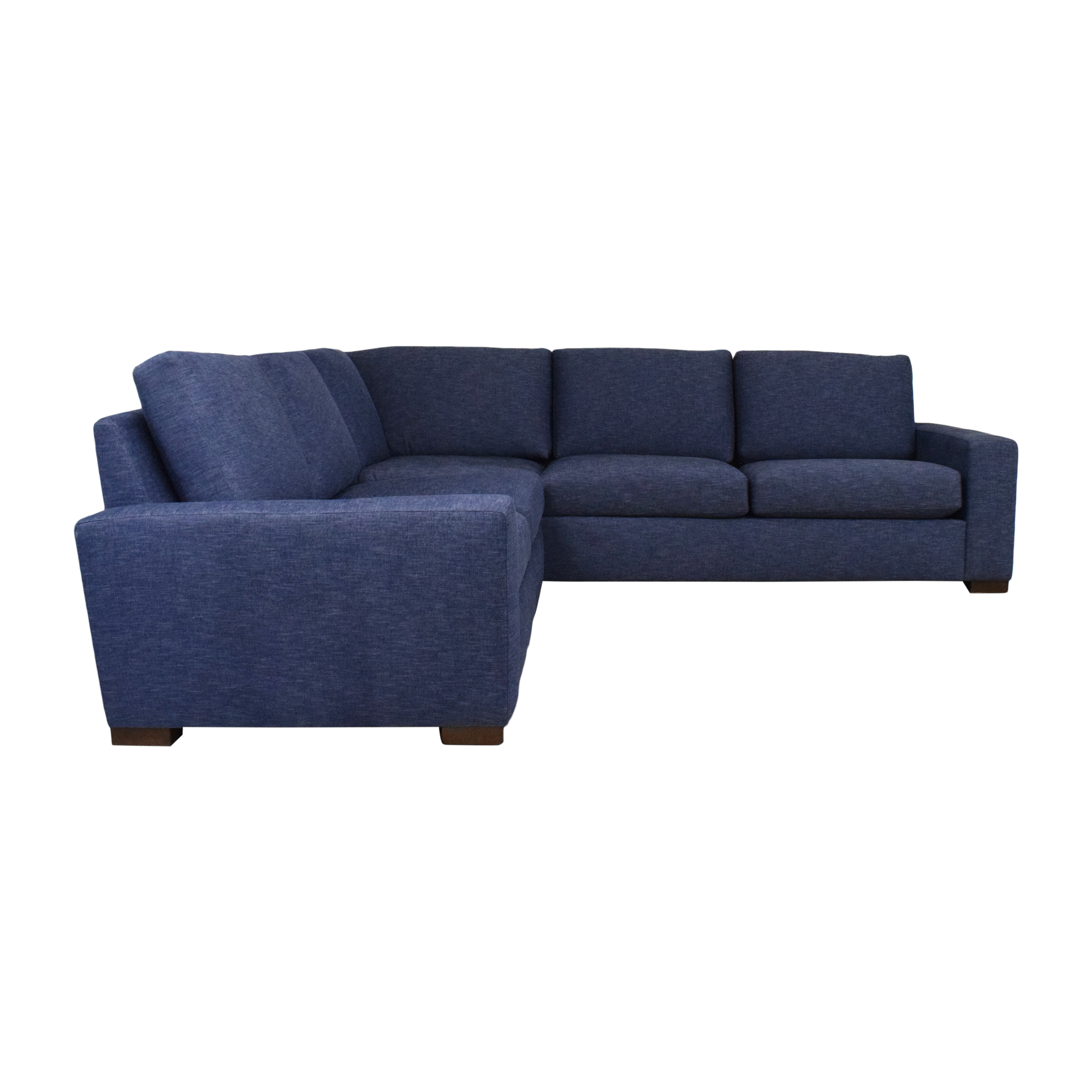 shop BenchMade Modern Couch Potato Sectional Sofa BenchMade Modern Sectionals