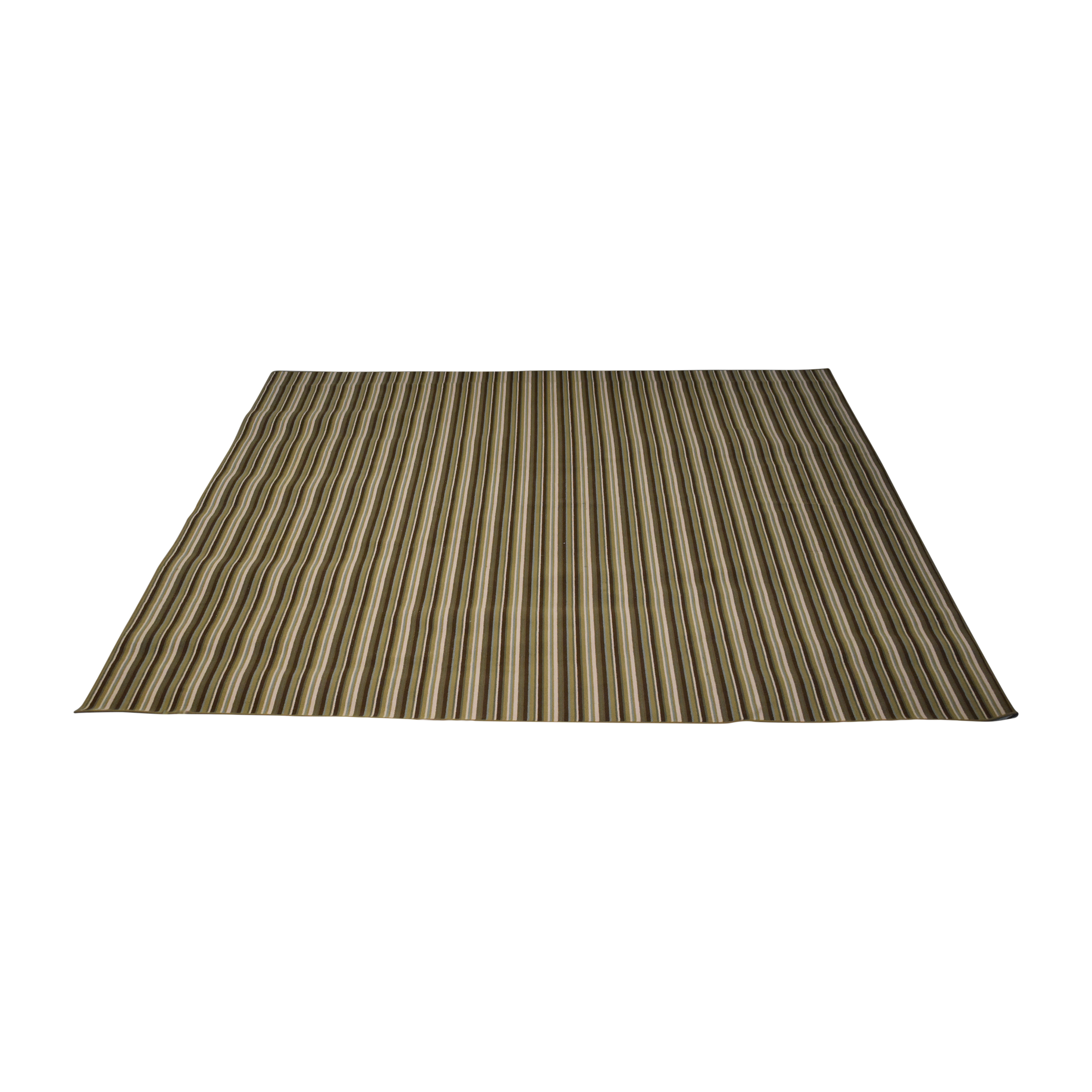 Striped Area Rug for sale