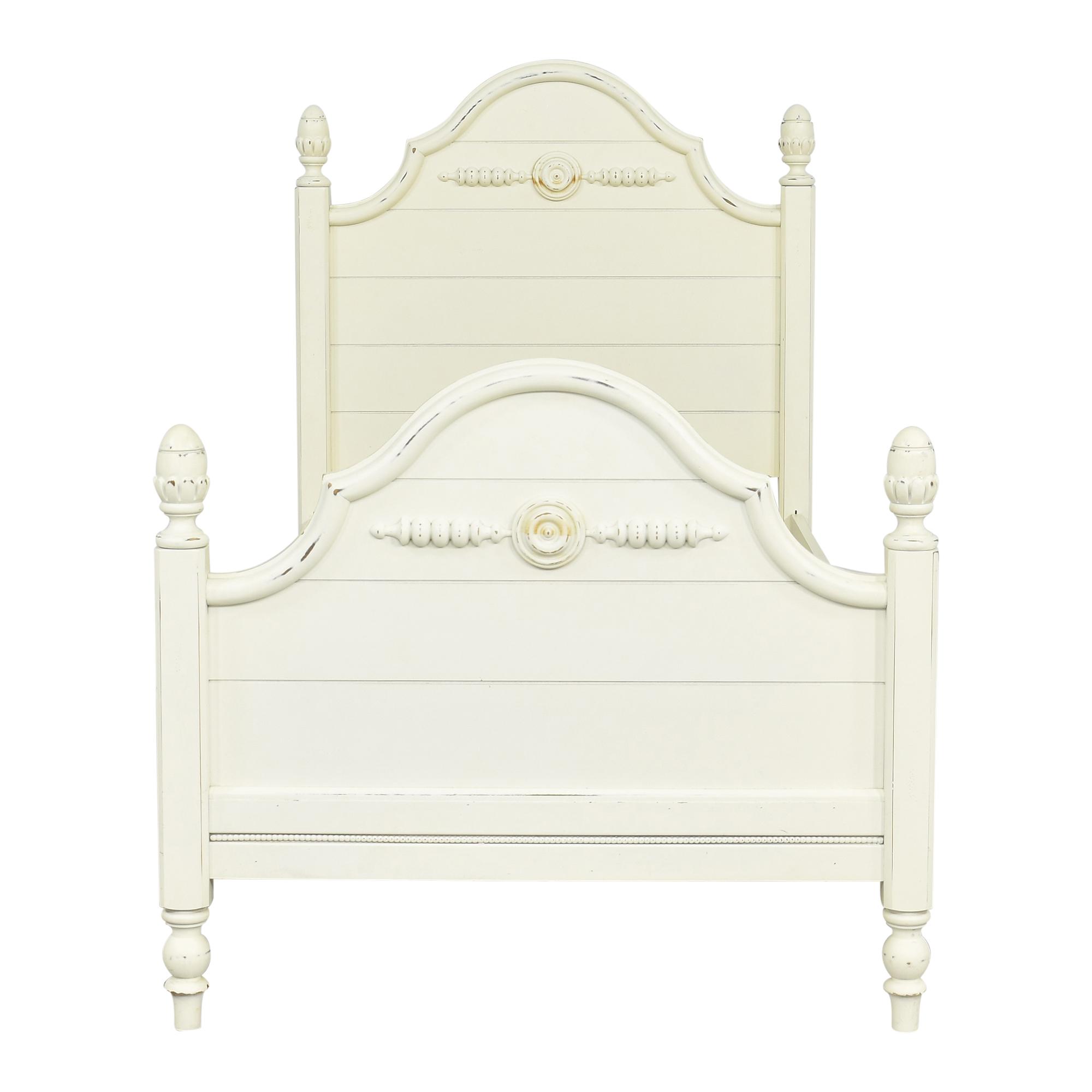 shop Lexington Furniture Lexington Furniture Country Cottage Twin Poster Bed online