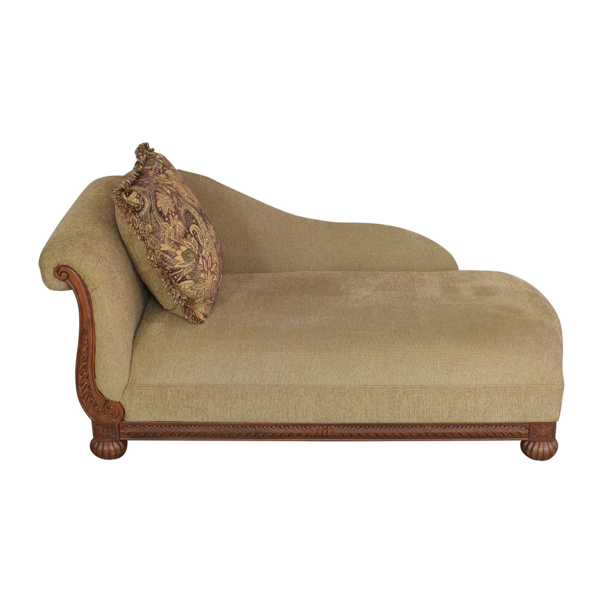 Raymour & Flanigan Raymour & Flanigan Rolled Back Chaise on sale