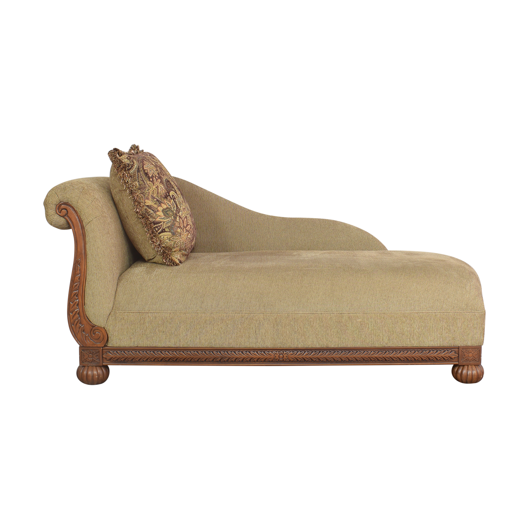 shop Raymour & Flanigan Rolled Back Chaise Raymour & Flanigan Sofas