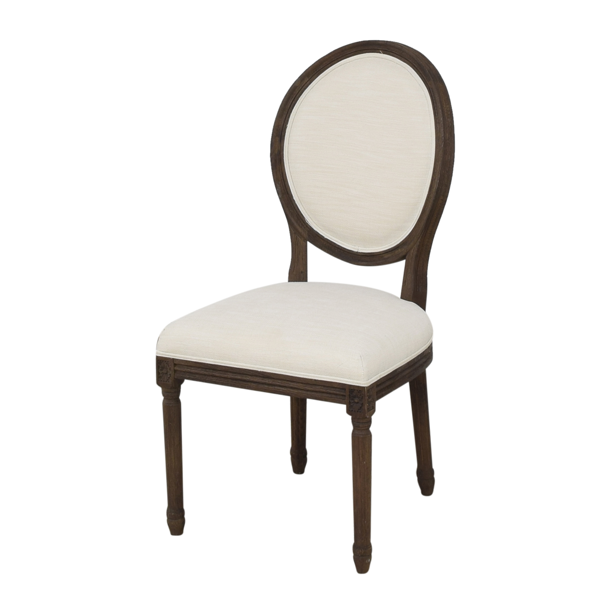 Restoration Hardware Restoration Hardware Vintage French Round Side Dining Chairs Chairs