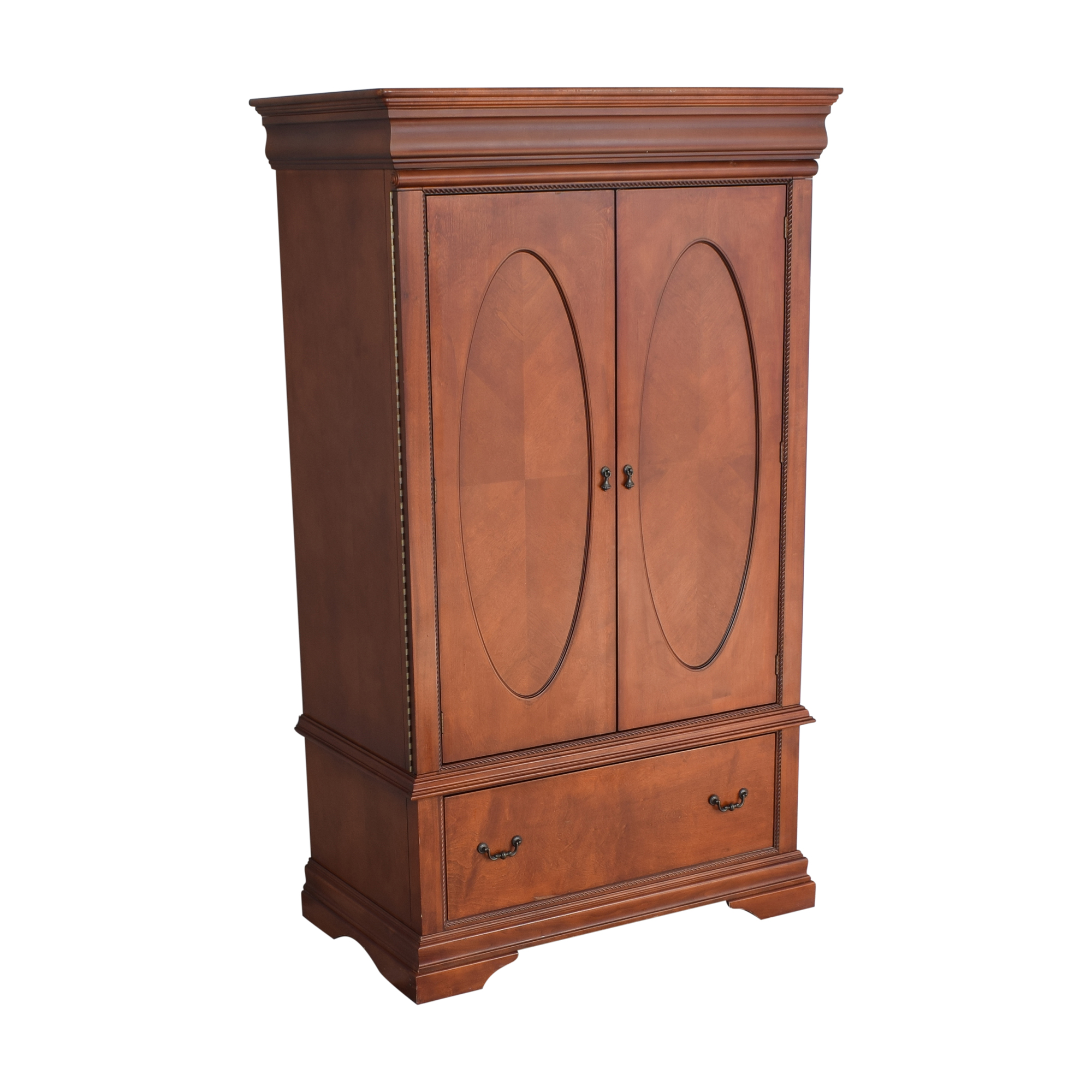 buy Broyhill Furniture Broyhill Furniture Two Door Armoire with Mirrors online