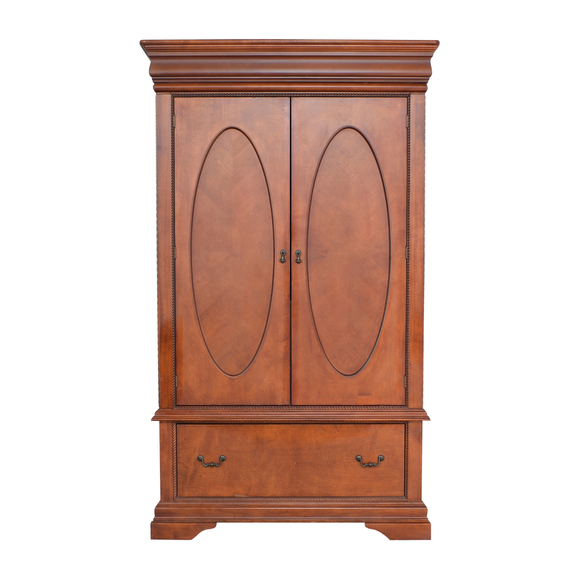 Broyhill Furniture Broyhill Furniture Two Door Armoire with Mirrors for sale