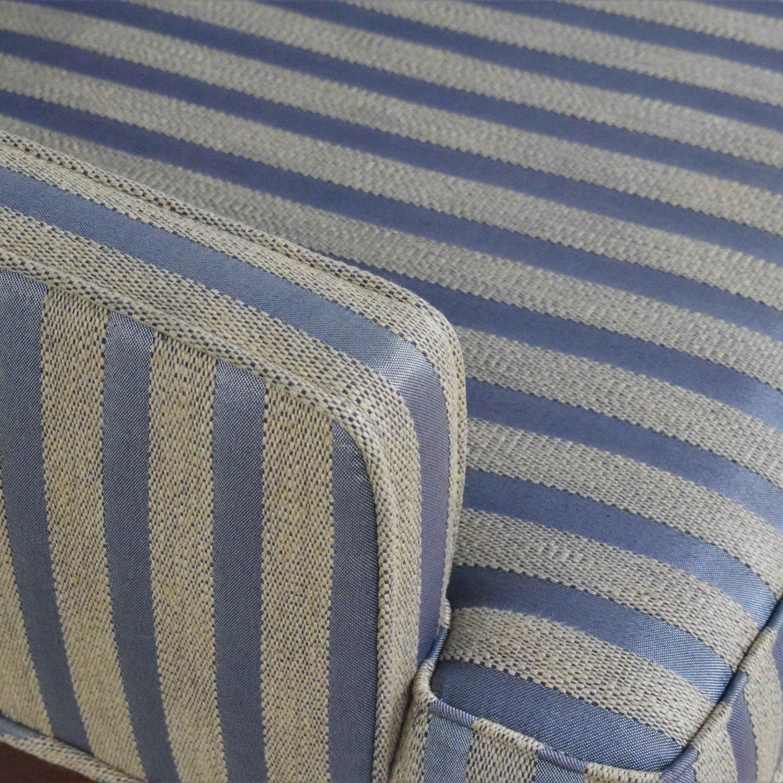 Striped Arm Chair Chairs