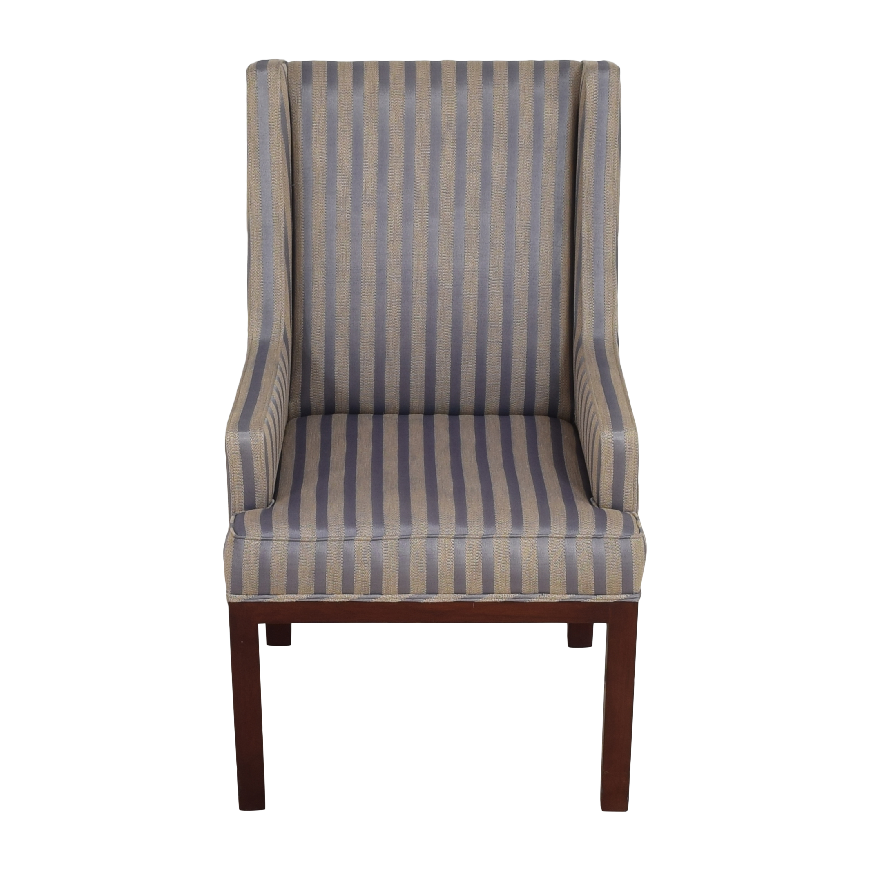 Striped Arm Chair / Accent Chairs