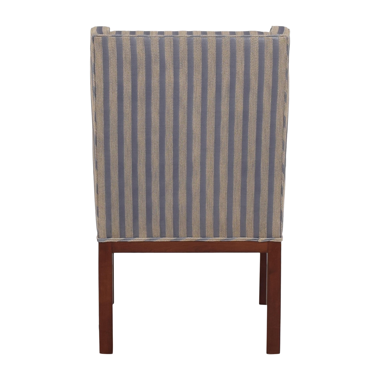 Striped Arm Chair sale