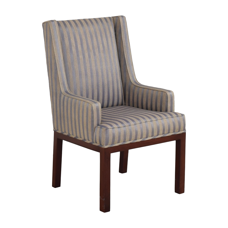 Striped Arm Chair nj
