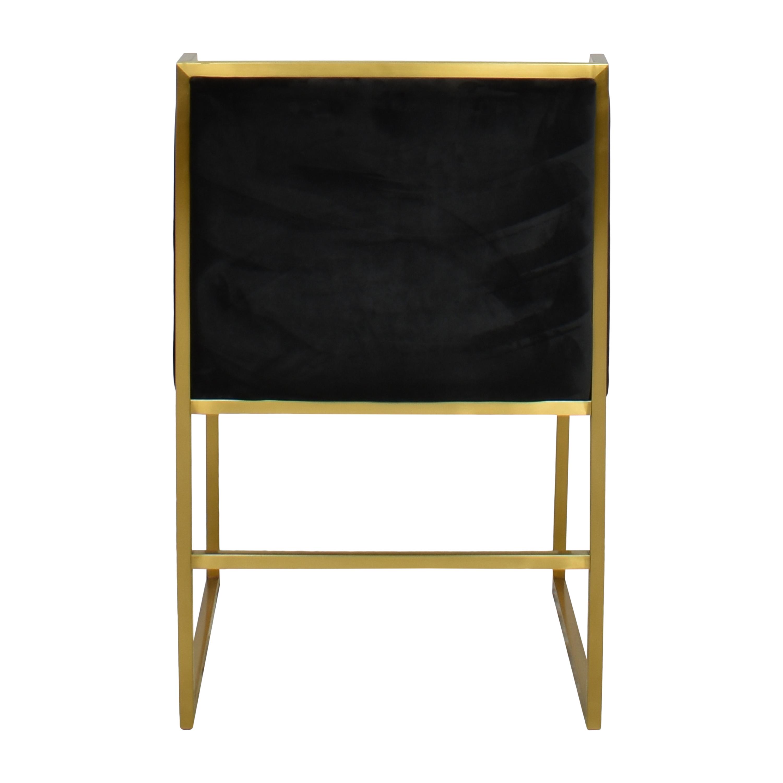 TOV TOV Atara Chair Black and Gold