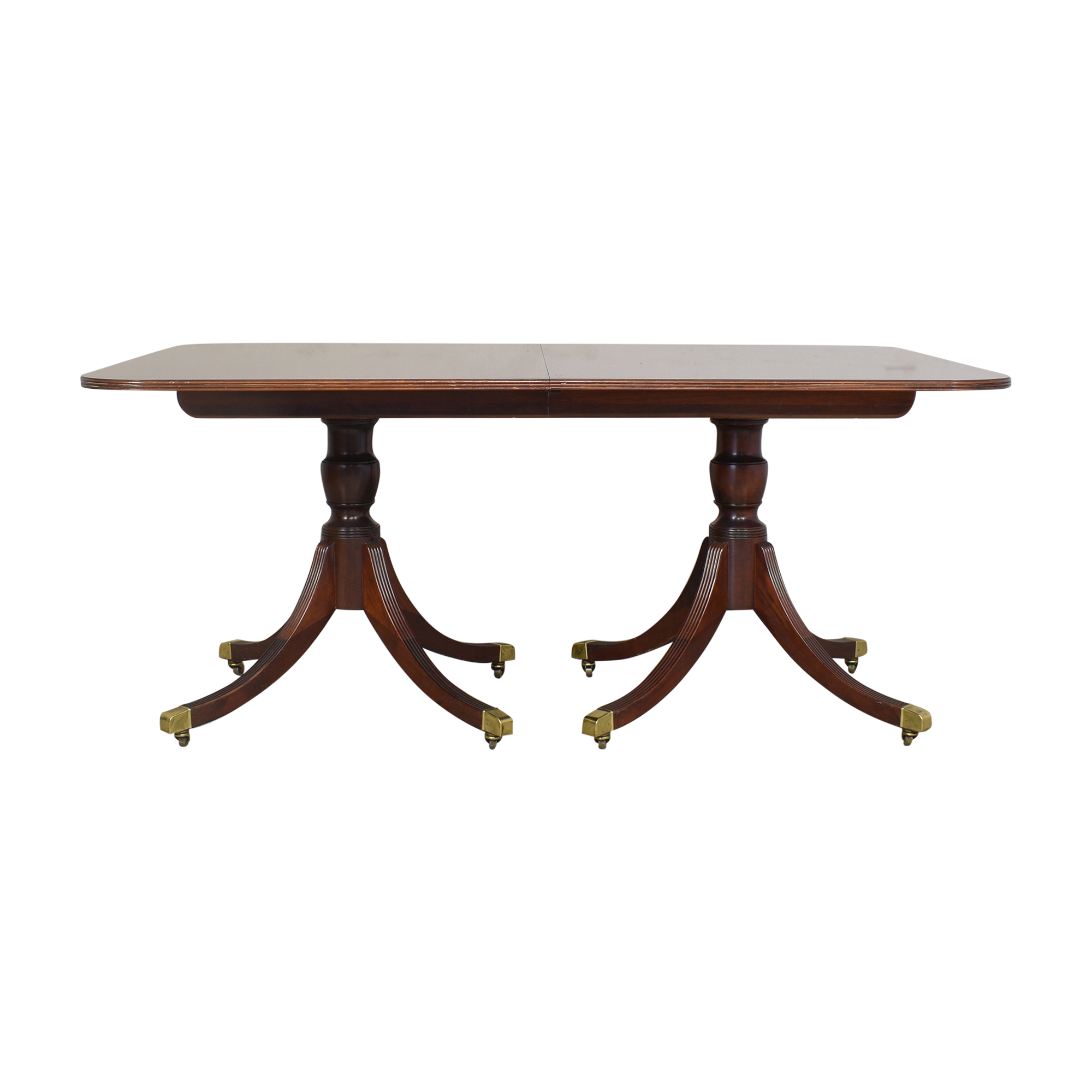 Baker Furniture Baker Furniture Historic Charleston Collection Extendable Dining Table Dinner Tables