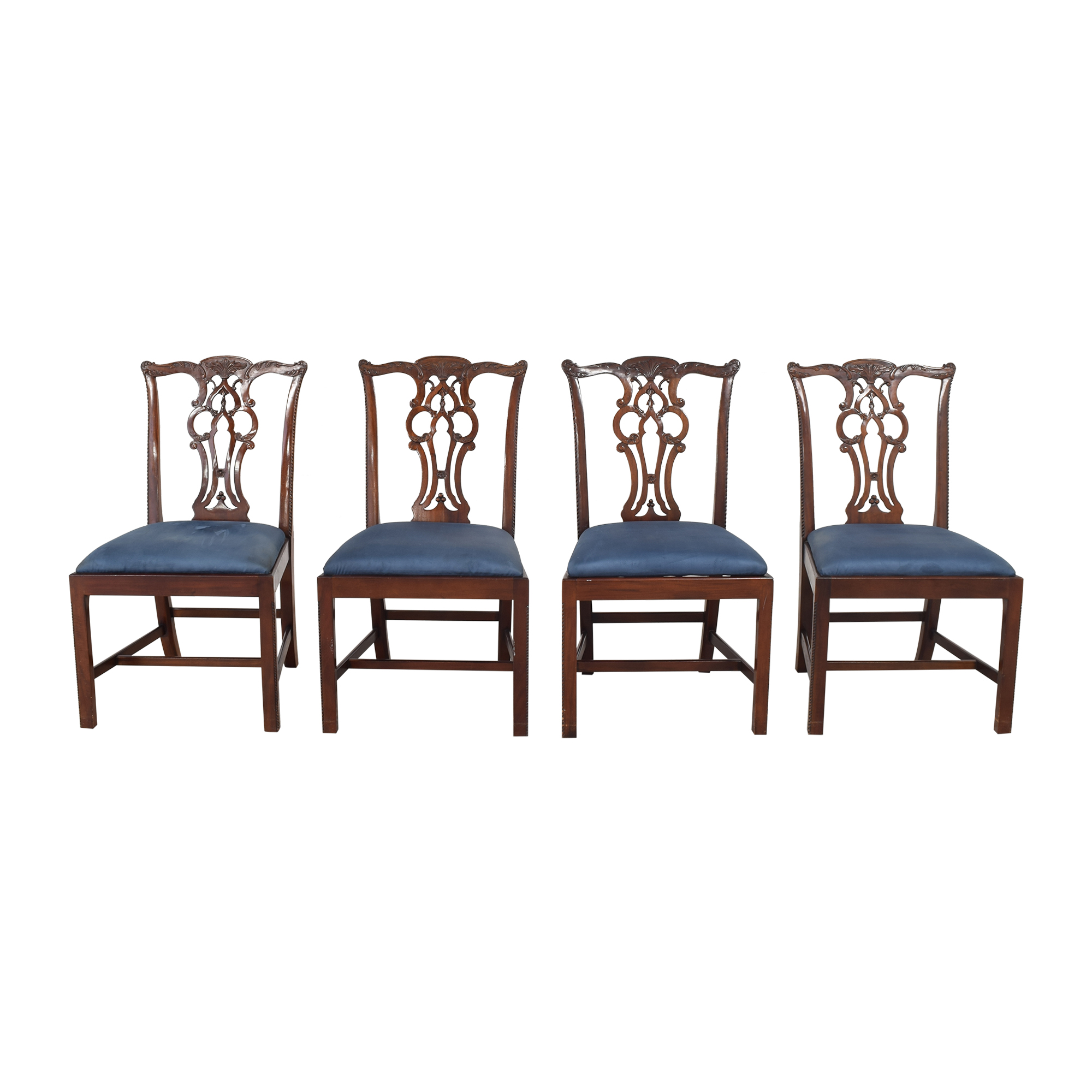 shop Maitland-Smith Chippendale Dining Chairs Maitland-Smith Dining Chairs