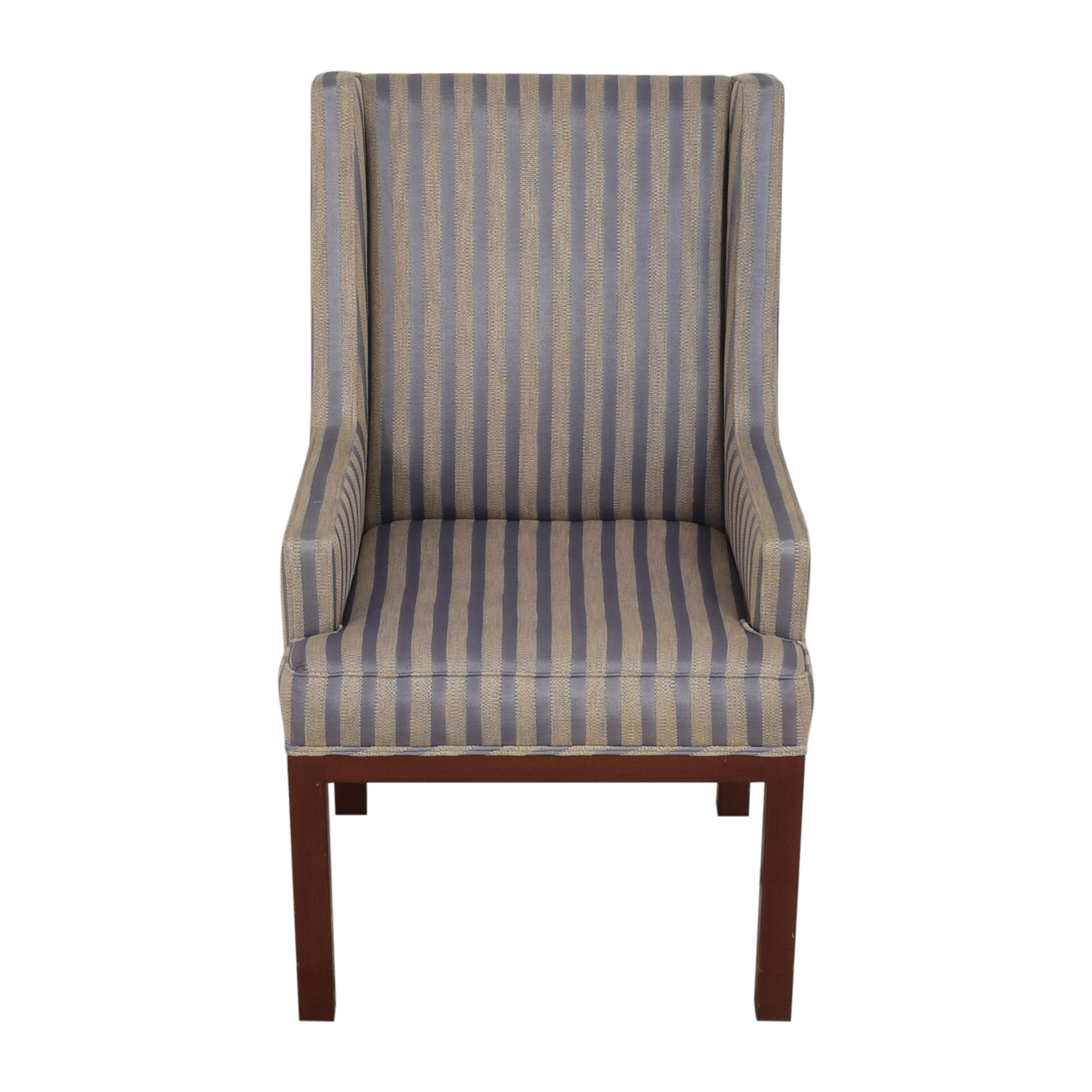 buy Striped Arm Chair  Accent Chairs