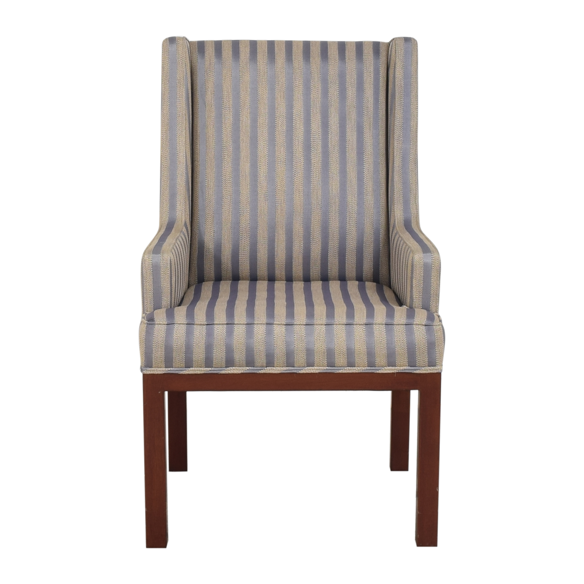 Striped Arm Chair used