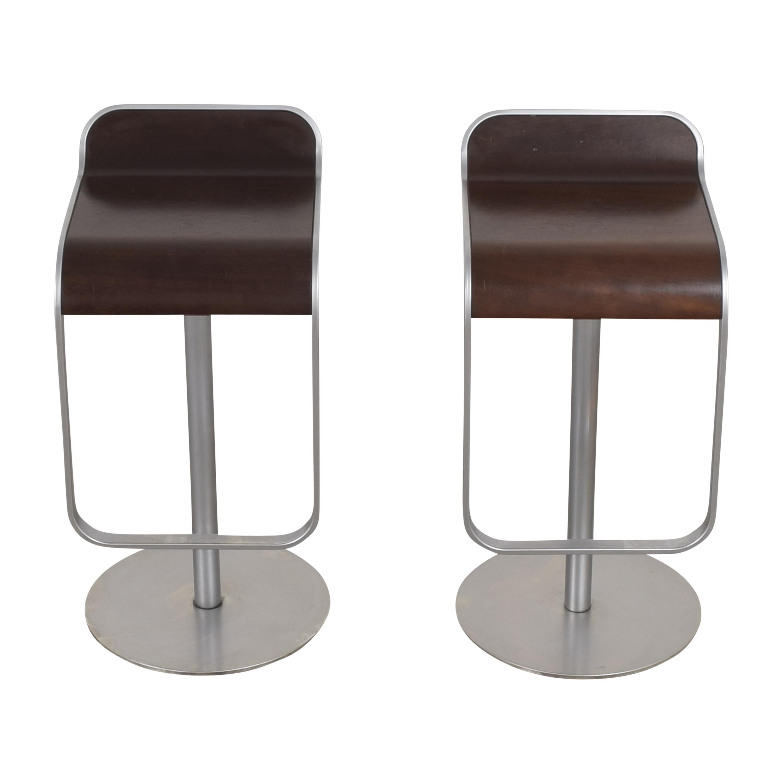 buy Design Within Reach Lapalma LEM Piston Stools by Lapalma Design Within Reach