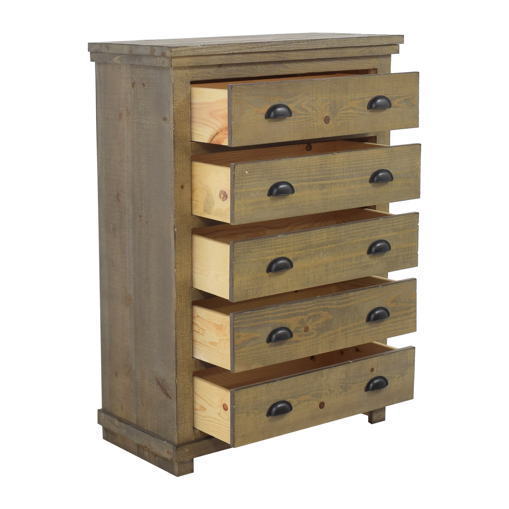 Progressive Furniture Progressive Furniture Willow Five Drawer Chest on sale