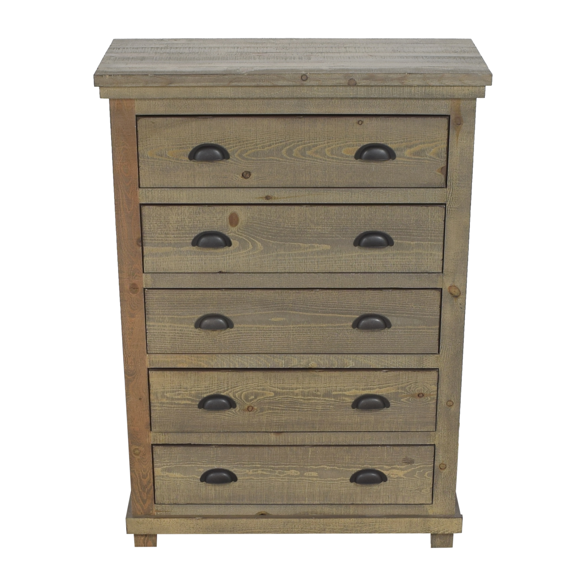 Progressive Furniture Progressive Furniture Willow Five Drawer Chest dimensions